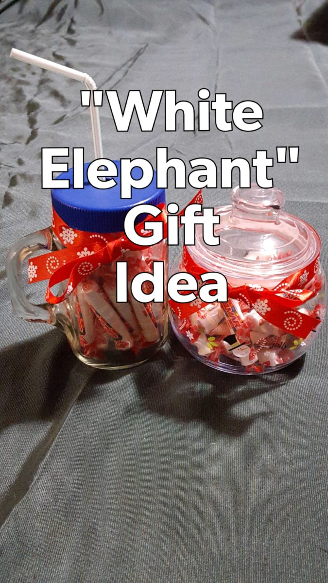 candy gifts DIY White Elephant Christmas Gift Ideas Under Five Dollars