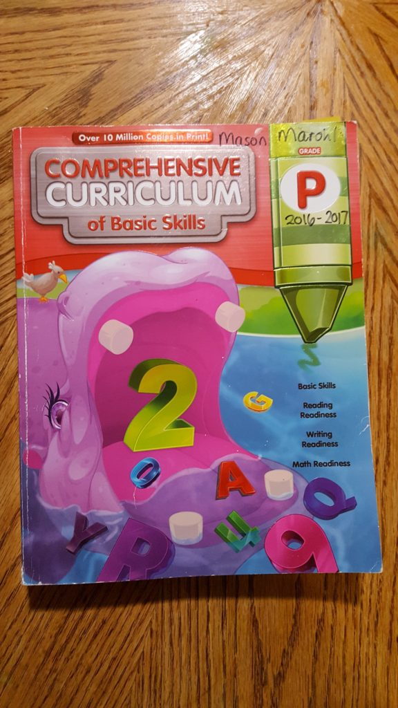 book Comprehensive Curriculum of Baic Skils Grade P Homeschooling Preschool - What do I DO for Pre-School?