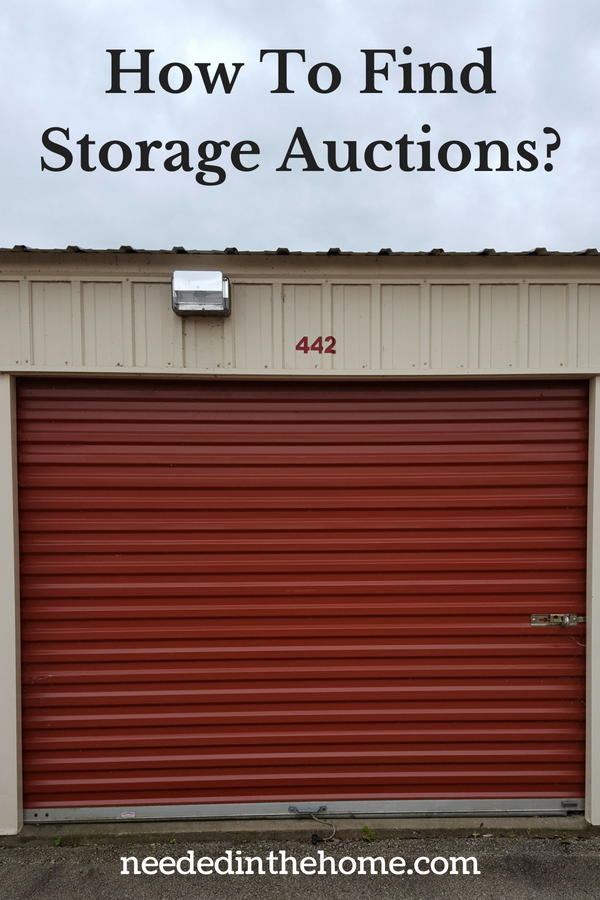 How To Find Storage Auctions image defaulted storage locker unit 442 neededinthehome