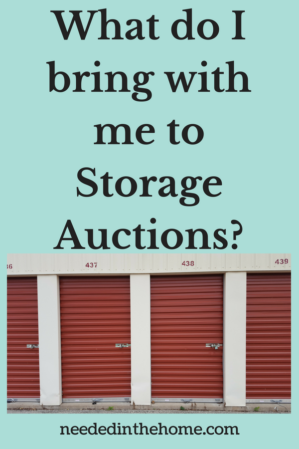 Buying Storage Units For A Living - What do I bring with me to storage auctions? image storage lockers neededinthehome