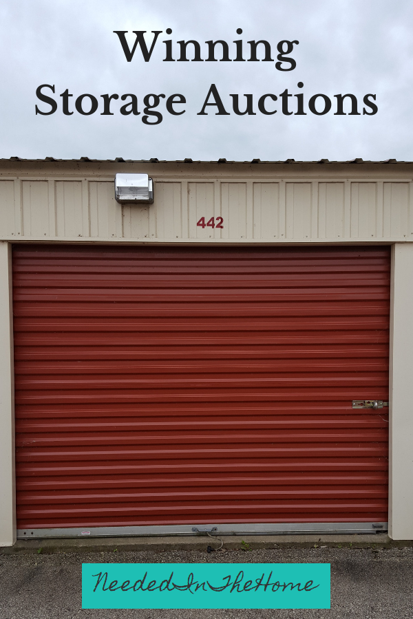 Winning Storage Auctions Abandoned Storage Unit up for auction neededinthehome