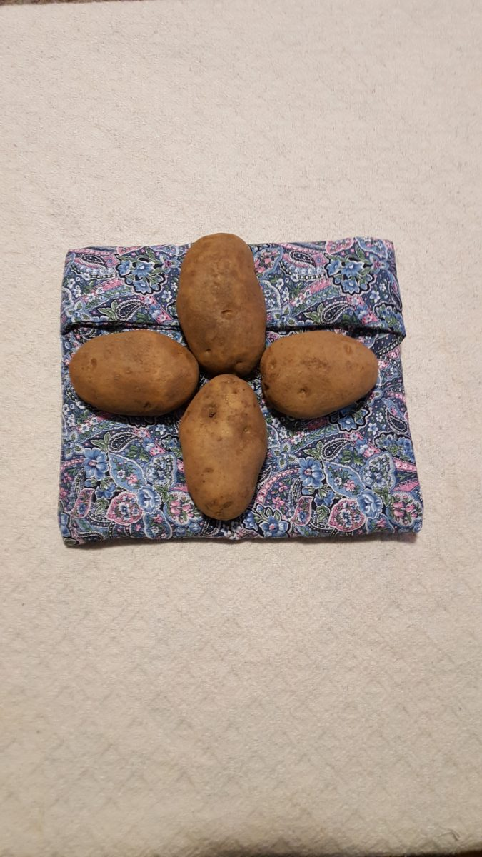 Zero Waste Reusable Items Microwave Potato Bag potatoes