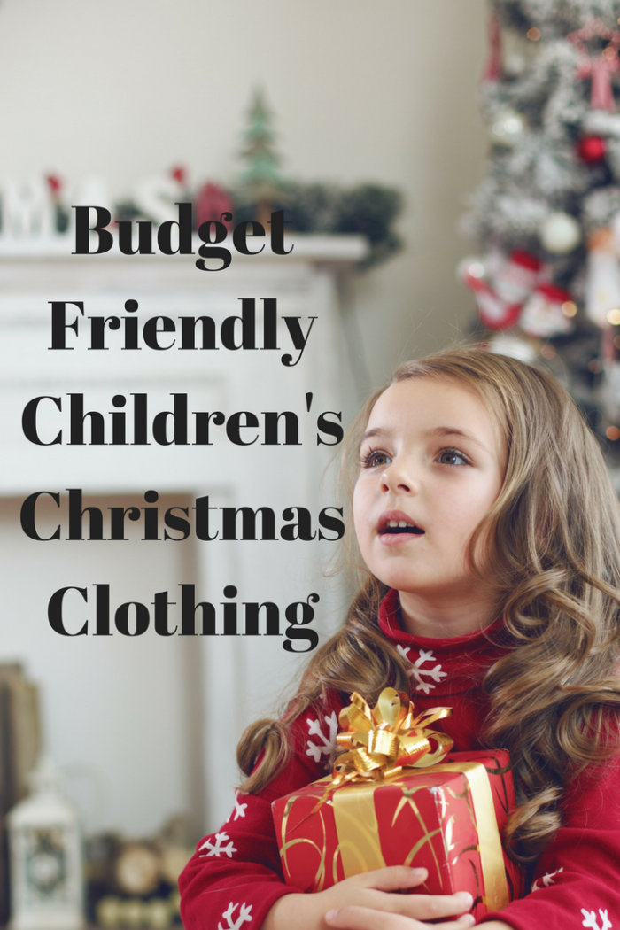Budget Friendly Children's Christmas Clothing girl gifts tree neededinthehome