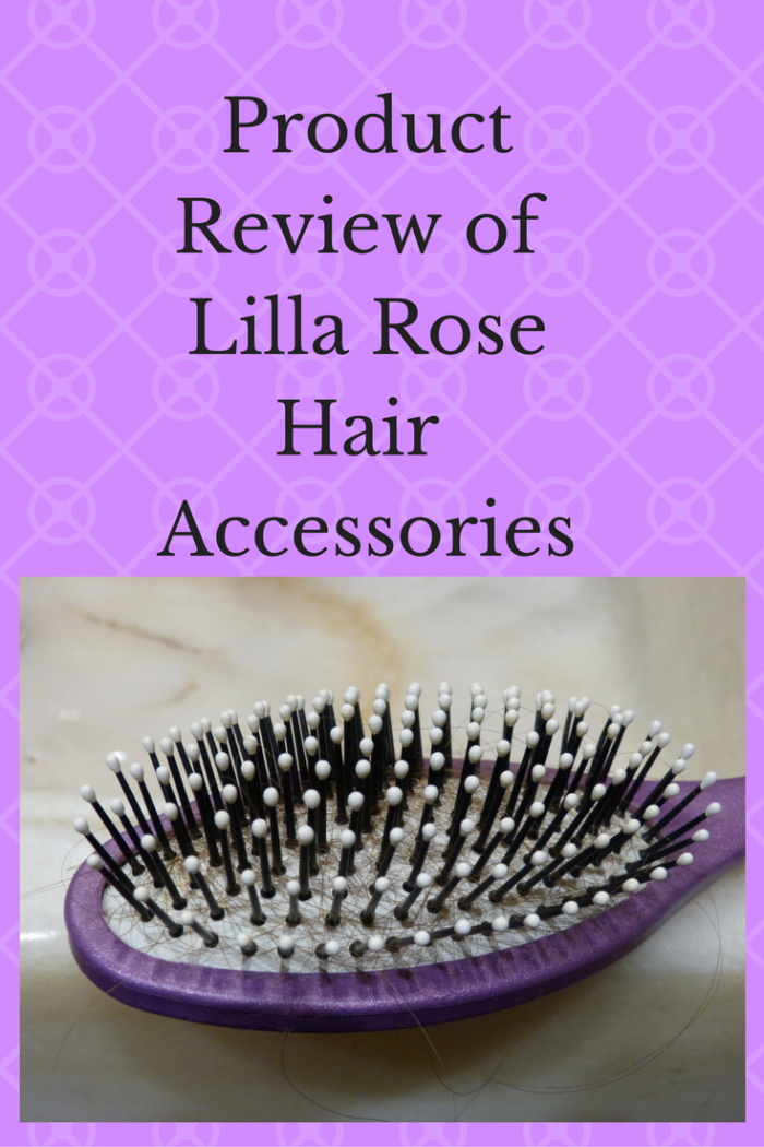 purple hairbrush Product Review Of Lilla Rose Hair Accessories by neededinthehome