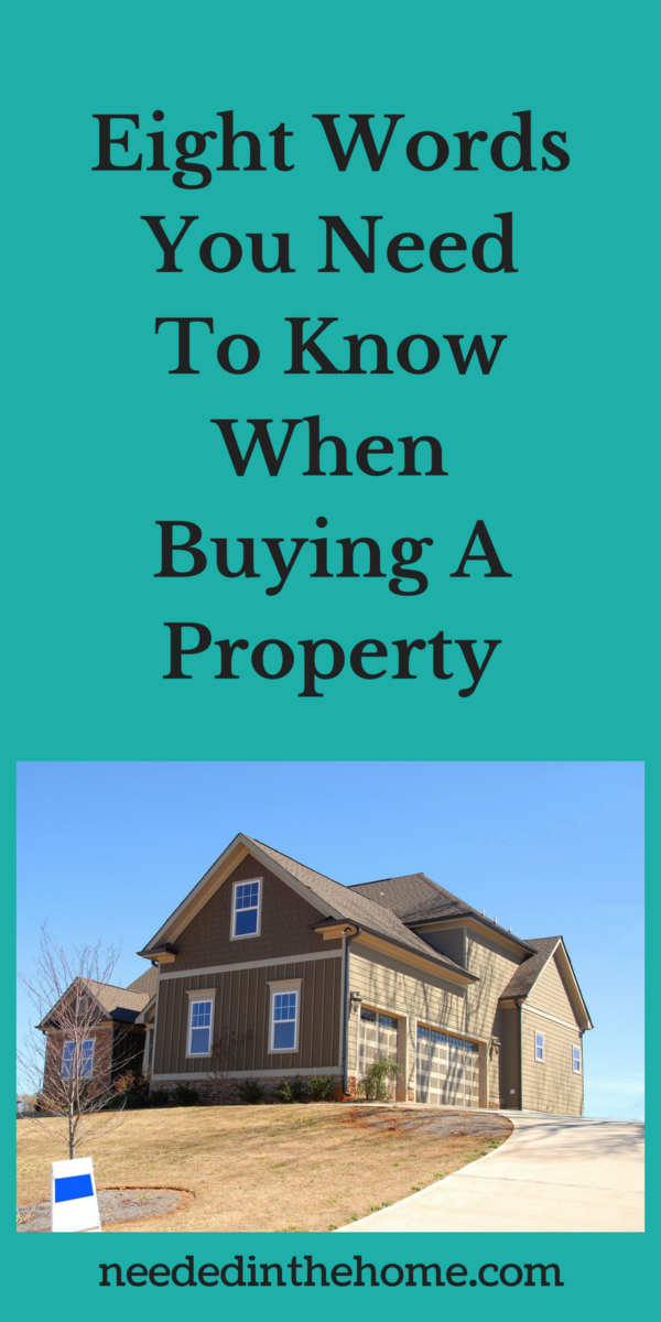 property for sale house on hill Eight Words You Need To Know When Buying A Property