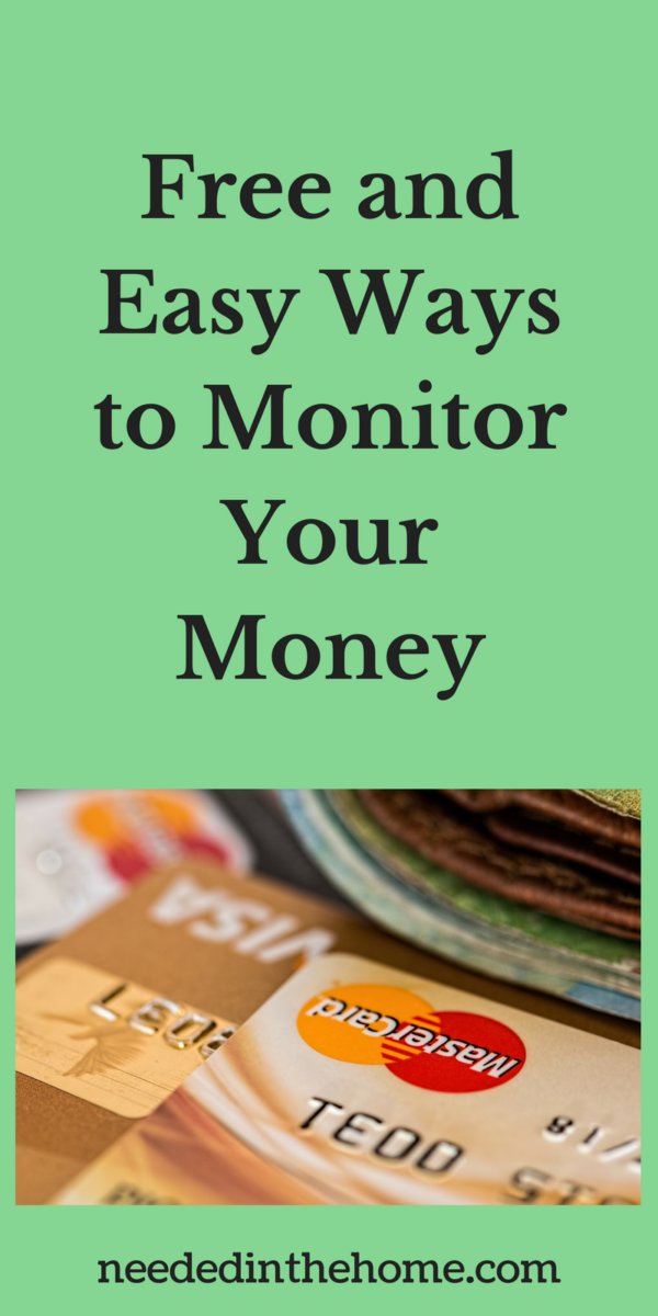 credit cards wallet purse Free and Easy Ways to Monitor Your Money