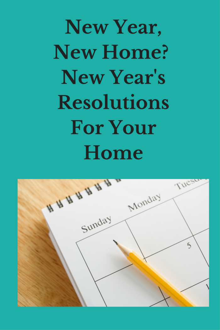 pencil and calendar New Year, New Home? New Year's Resolutions For Your Home