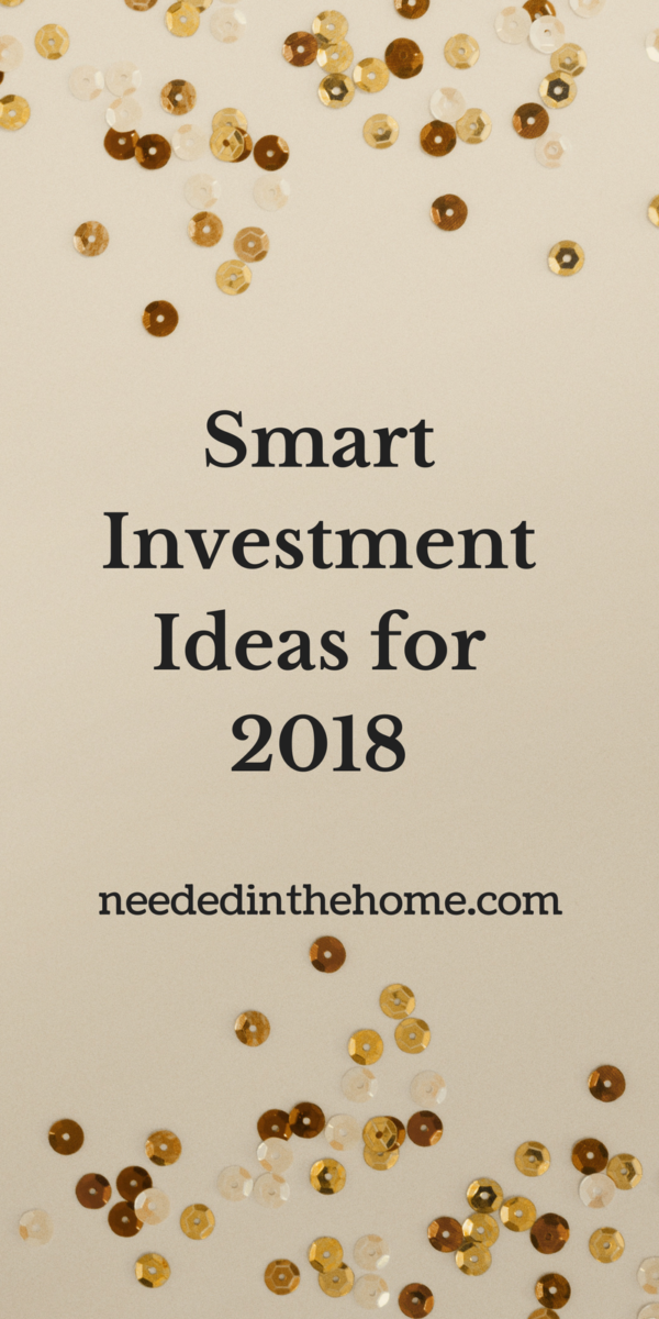 confetti to celebrate New Year's Eve Smart Investment Ideas for 2018