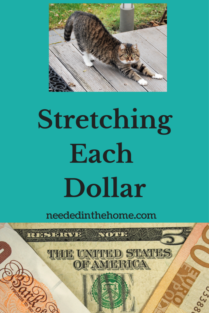 Stretching Each Dollar To The Max And Saving Money With Faith : StretchingEach Dollar 700x1050 from neededinthehome.com size 700 x 1050 png 805kB