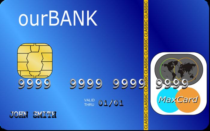 sample credit card john smith name on it