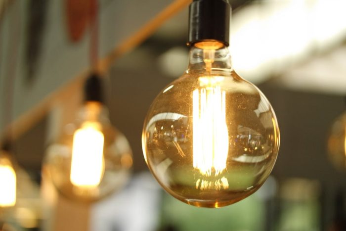 lightbulbs photo lights to brighten a home for safety