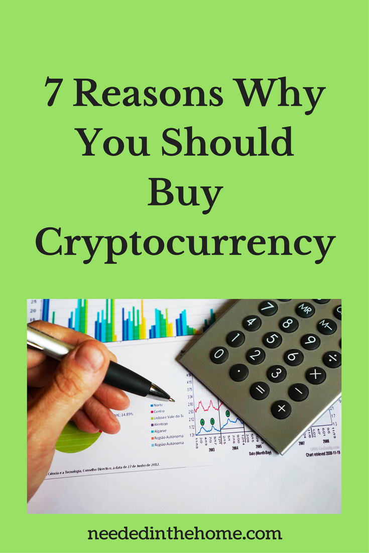 money graph calculator pen hand 7 Reasons Why You Should Buy Cryptocurrency