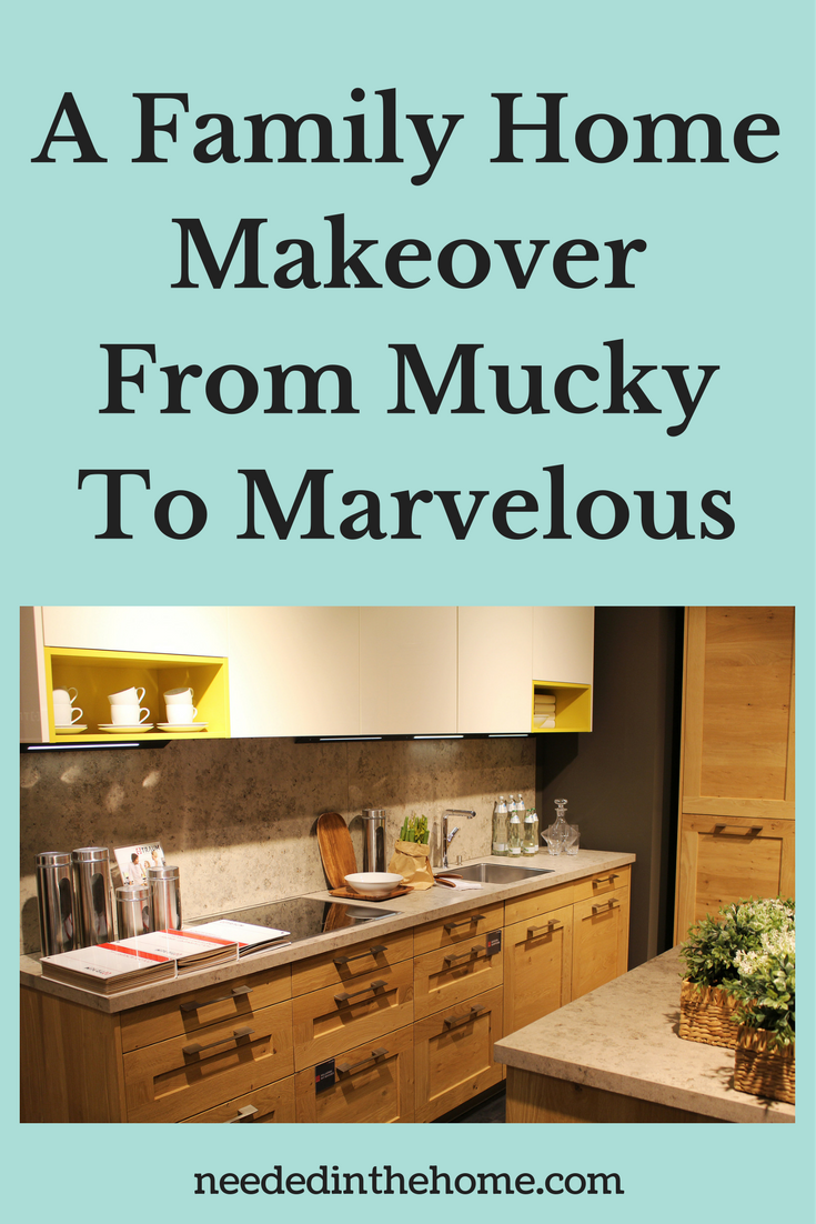 kitchen cupboards counter A Family Home Makeover From Mucky To Marvelous