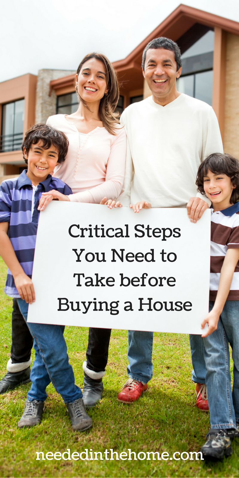 Critical steps you need to take before buying a house for What to do before buying a home