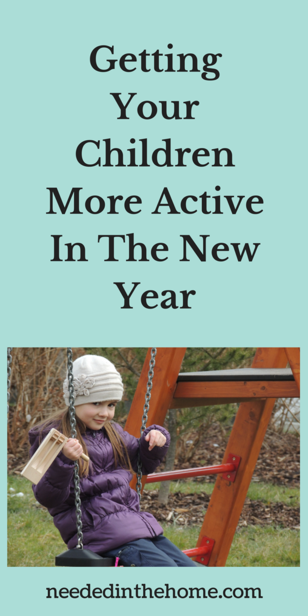girl on swing in winter Getting Your Children More Active In The New Year