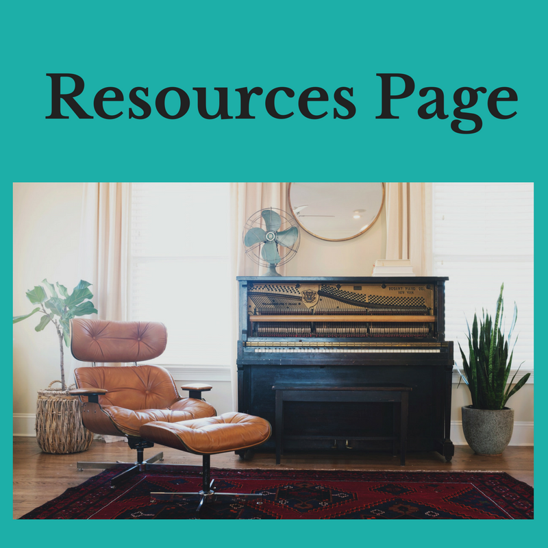 den with chair and piano Resources Page of neededinthehome.com