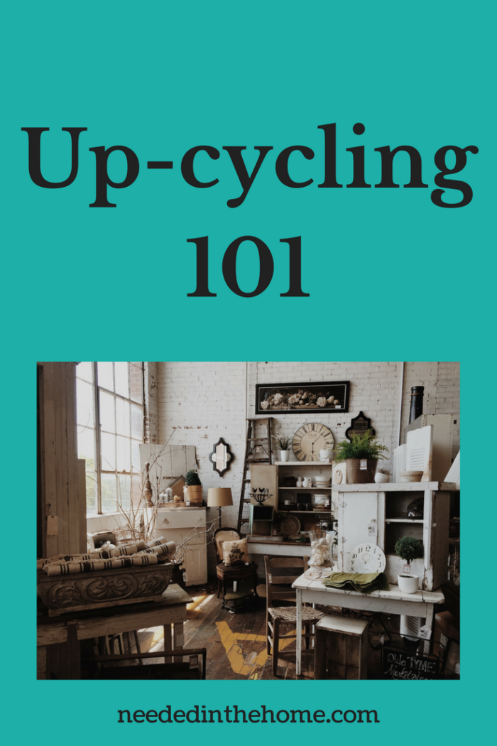 old antique furniture that has been upcycled with paint and new knobs Up-cycling 101 / Upcycling 101 / Making Old Furniture New and Useful in Home Decor from NeededInTheHome