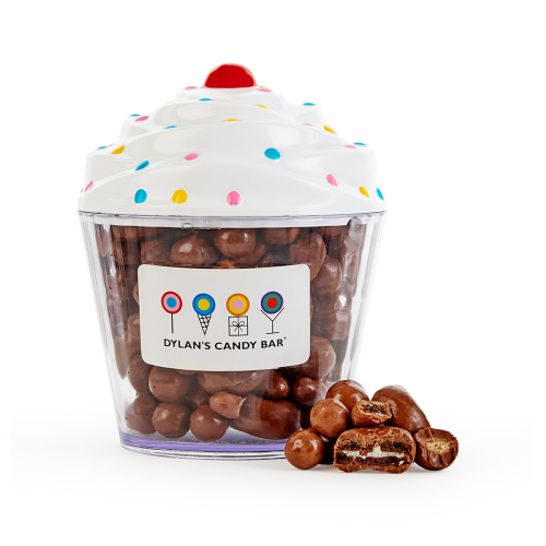 dylan's candy bar cupcake filled with chocolate bakery mix perfect for the person who has everything
