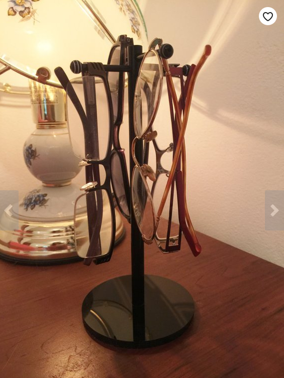 Person who has everything gift Specs Up Eyeglass holder holds up to 4 pairs of glasses on Etsy