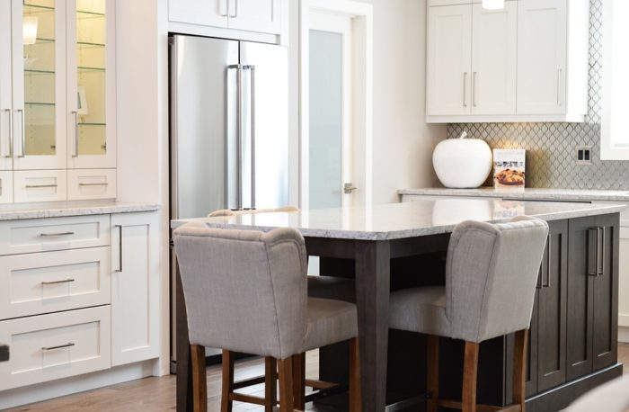 kitchen storage counter with bar stools stainless steel refrigerator do you deserve a new kitchen