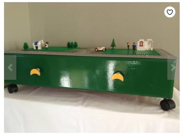 Minimalist Under Bed Toy Storage Solution