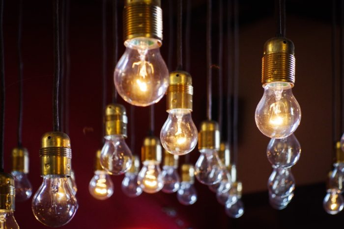 electric lights Time to Top Up Your Utilities