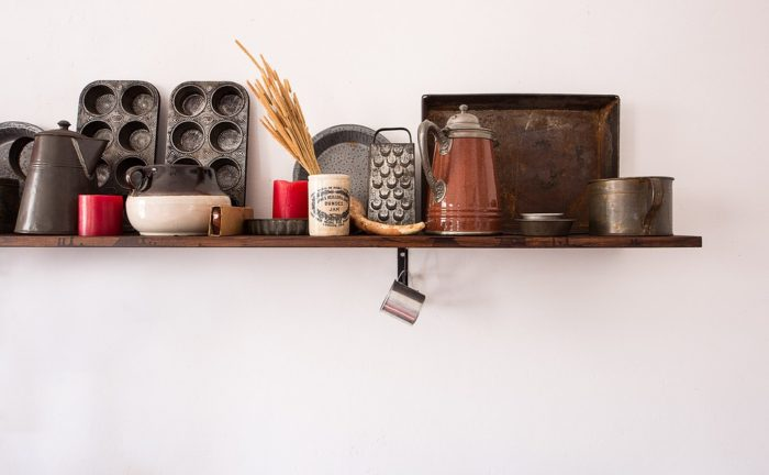 kitchen shelf with trinkets Do You Deserve A New Kitchen?