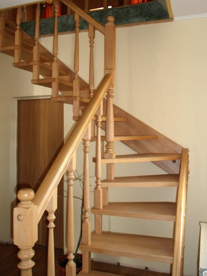 wooden stairway leading to attic Planning a luxury loft conversion using your attic