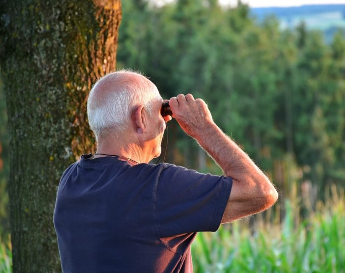 retired man with binoculars in nature Are You Prepared To Retire