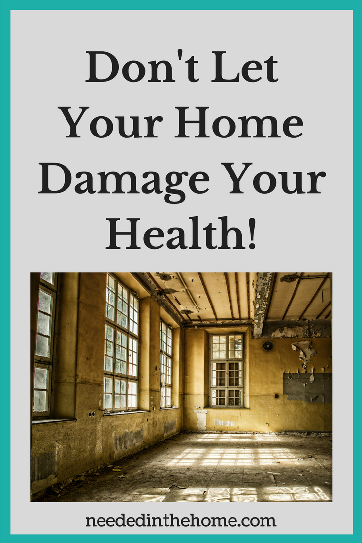 room full of mold mould mildew Don't Let Your Home Damage Your Health!