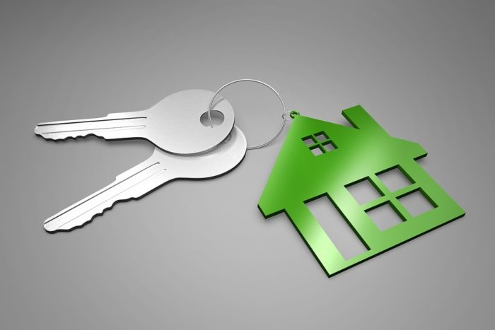 keys on a house keychain making homes your business becoming a landlord for a home business