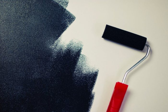 paint roller black paint on wall reasons why you should paint your home painting my home interior