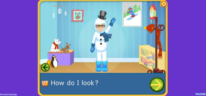 snowman avatar on starfall