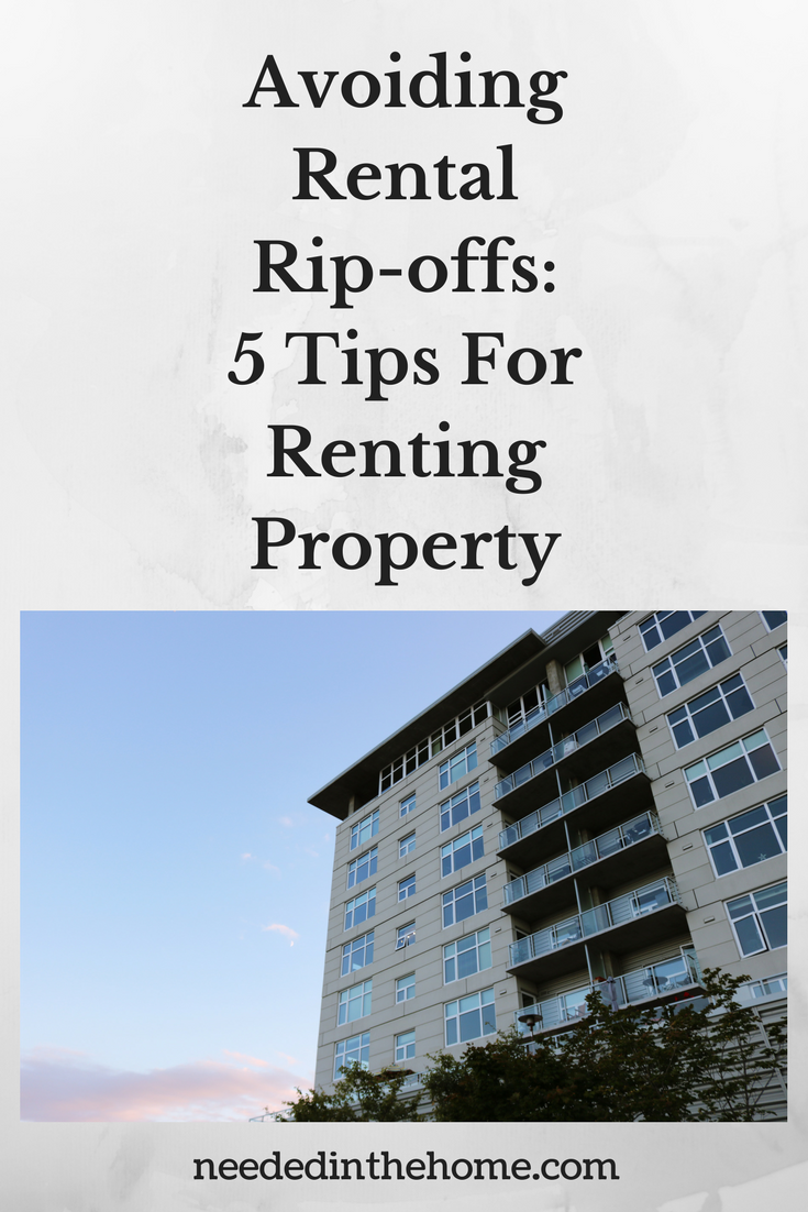 Avoiding Rental Rip-offs: 5 Tips For Renting Property high rise apartments for rent neededinthehome