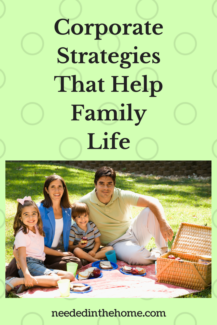 Happy family life / Corporate Strategies That Help Family Life family on a picnic