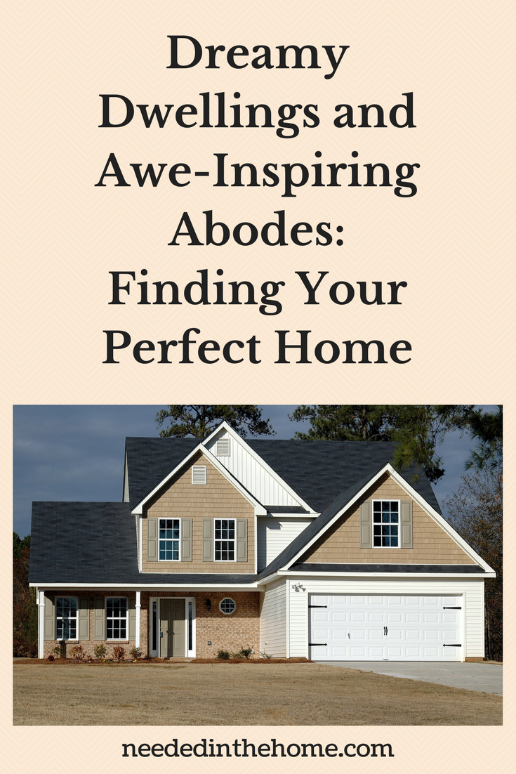 Home Decor Home Interiors Dreamy Dwellings and Awe-Inspiring Abodes: Finding Your Perfect Home modern two story home with two card garage neededinthehome
