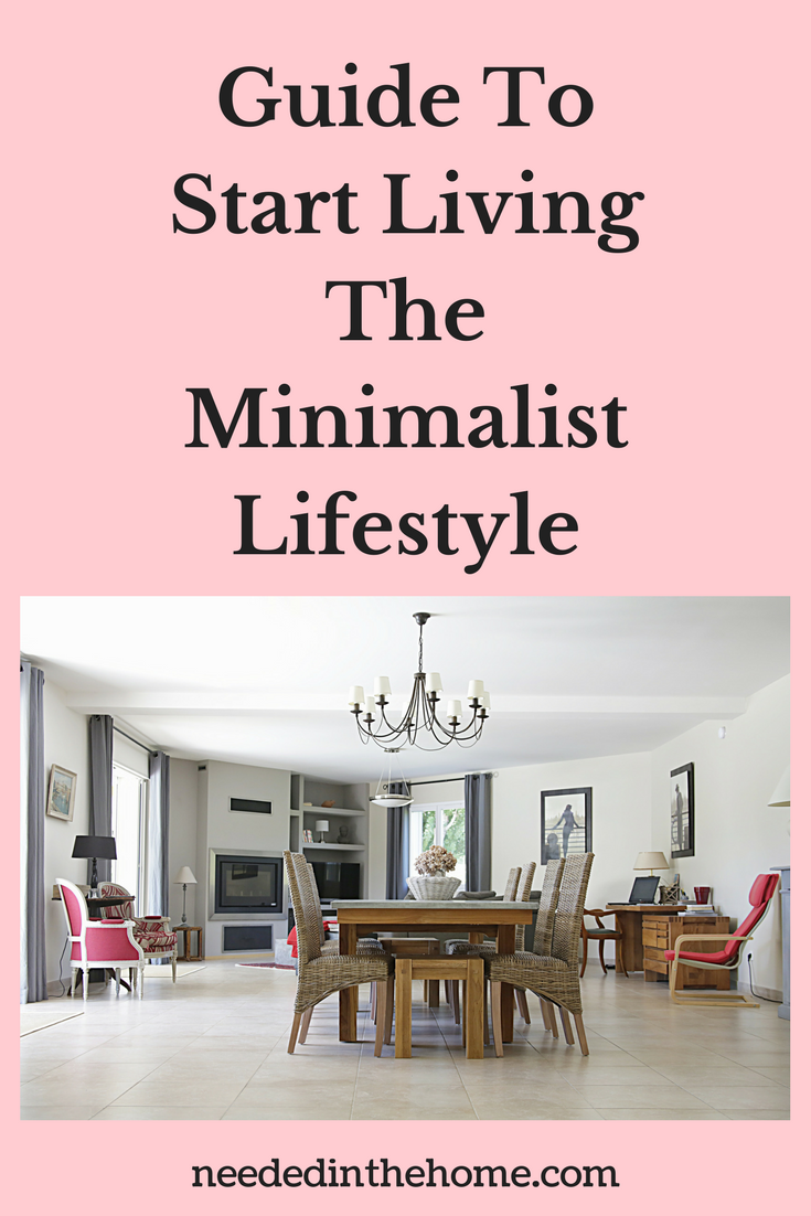 The Only Guide You Need To Start Living The Minimalist Lifestyle dining room with minimal furniture and decor neededinthehome