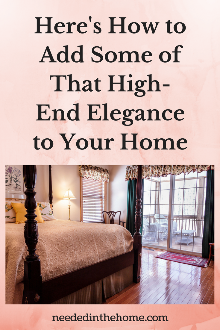 bedroom curtains hardwood floors Here's How to Add Some of That High-End Elegance to Your Home neededinthehome