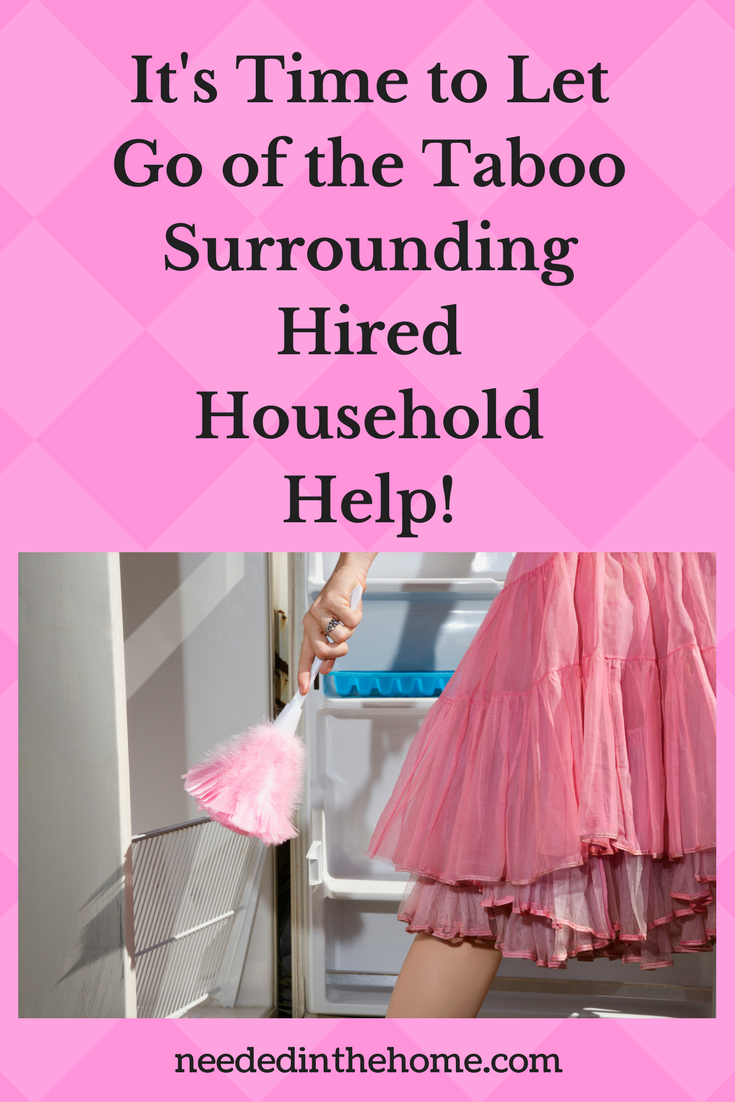 maid housekeeper dusting feather duster It's Time to Let Go of the Taboo Surrounding Hired Household Help! neededinthehome