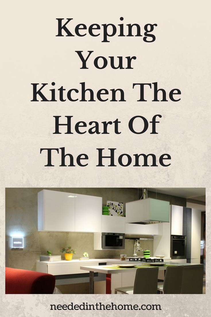 Keeping your kitchen the heart of your home white cupboards working appliances plants cozy