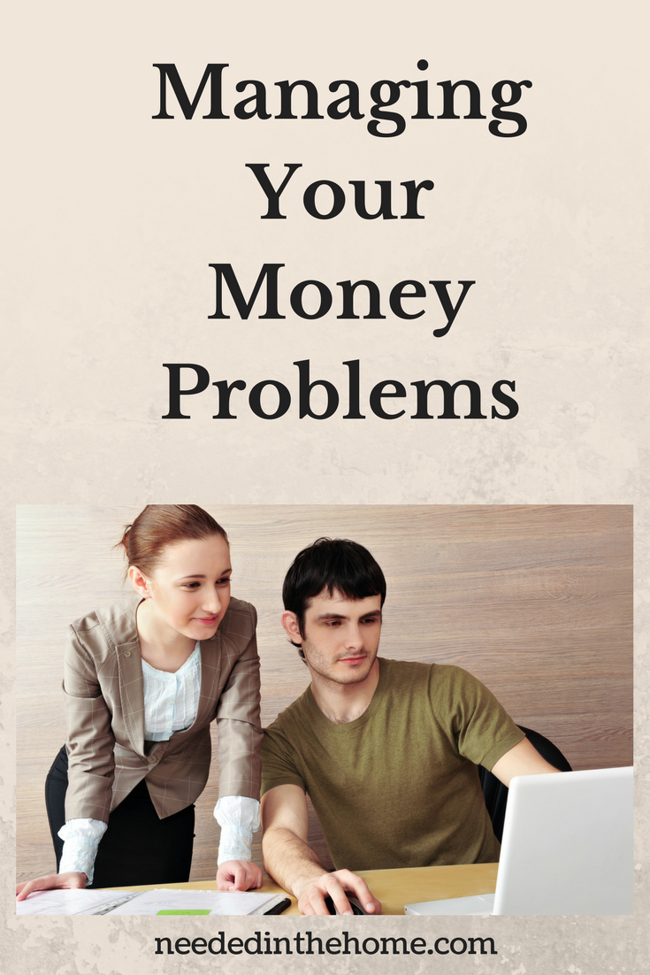 Financial Trouble / Ceaseless Cycles and Endless Exasperations: Managing Your Money Problems woman man planning budget no money neededinthehome