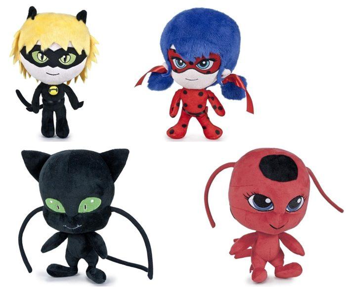 Cat Noir Ladybug Plagg Tikki Miraculous Plush Toy