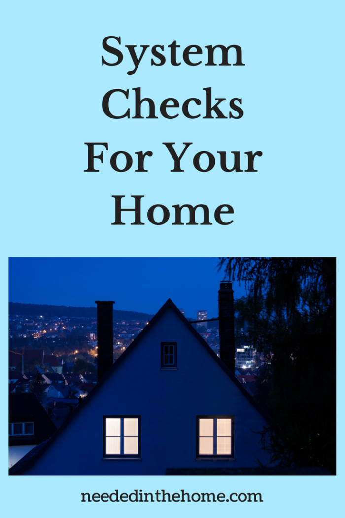 System Checks for your Home upper floor outside view of a home with lights on neededinthehome