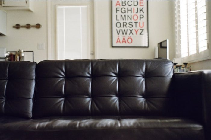 make your home easier to clean leather furniture