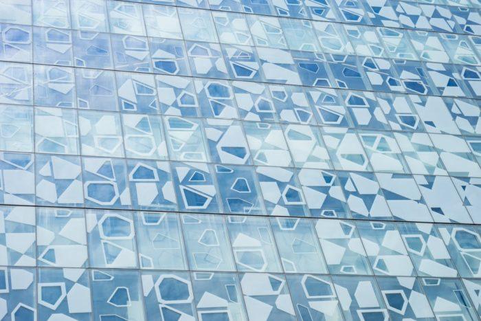 Designer bathroom blue designer tiles