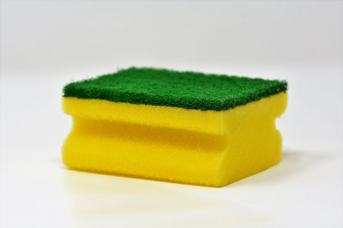 green and yellow scrub sponge It's Time To Let Go Of The Taboo Surrounding Hired Household Help