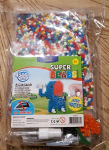 Bag of Zirrly Super Beads Mega Pack for a product review by neededinthehome