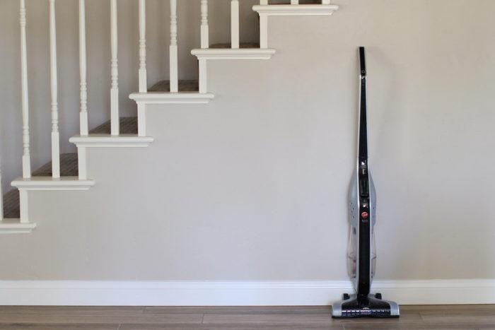 Simple cleaning tips stairway vacuum
