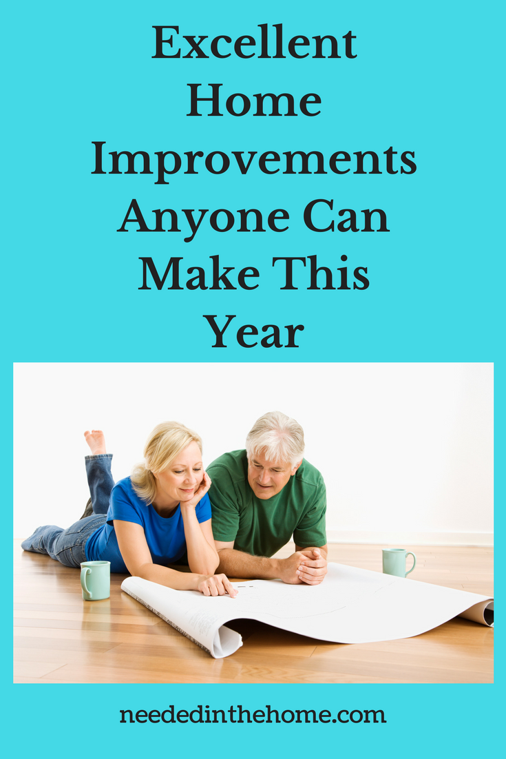 Excellent Home Improvements Anyone Can Make This Year couple on the floor planning a home renovations or remodel neededinthehom