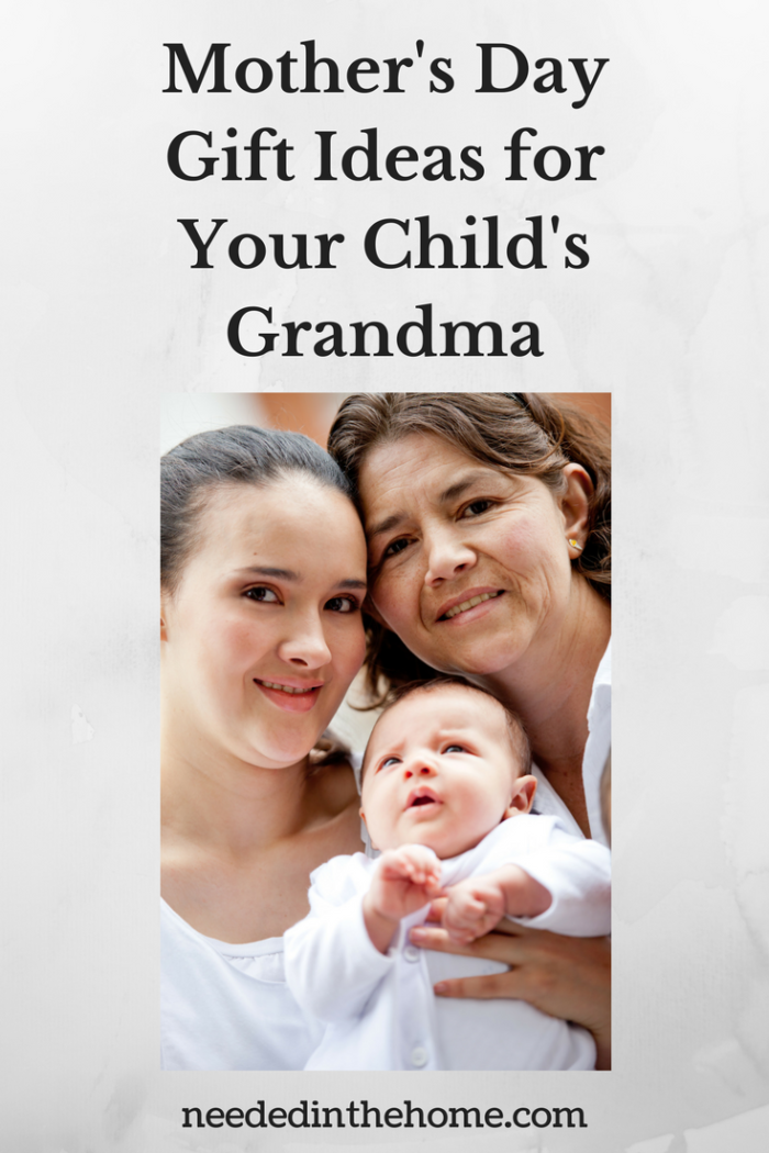 Mother's Day Gift Ideas for Your Child's Grandma mother daughter granddaughter generation photo neededinthehome